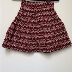 H&M Jacquard Short Woven Shirt